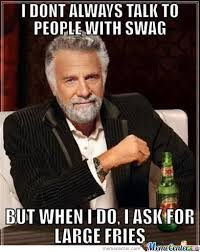 People With Swag by isabel95 - Meme Center via Relatably.com