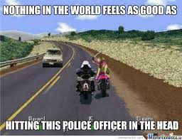 Road Rash by 303karan - Meme Center via Relatably.com
