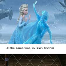 Elsa Come On Stop Freezing People.. Not Cool.. Budum Tsss by ... via Relatably.com