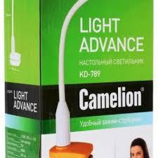 Светильник <b>Camelion KD</b>-<b>789</b> 7Вт на струбцине – купить в Уфе ...