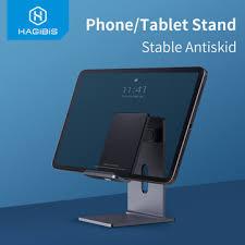<b>Hagibis phone</b> tablet holder <b>portable</b> desk stand aluminum ...