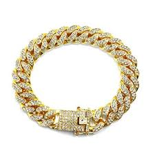 HUAMING 12mm <b>Gold Plated Hip Hop</b> Iced Out CZ Lab Diamond ...