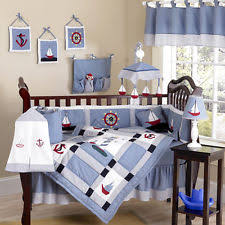 discount designer nautical boat themed sailing baby boy crib quilt bedding set baby mickey crib set design