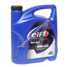 <b>Масло моторное</b> EVOLUTION 900 NF 5W40 синт.4л <b>ELF</b>