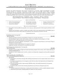 Staff Accountant Resume Examples Samples