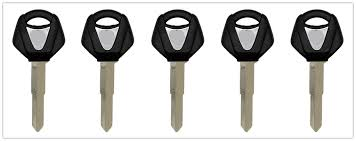 5PCS <b>Motorcycle</b> Uncut Blade <b>Blank Key Embryo</b> For YAMAHA YZF ...