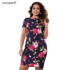 COCOEPPS <b>Women Summer Dress Floral</b> Print 2019 Vintage Plus ...