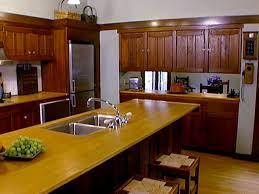 arts crafts style kitchen cabinets