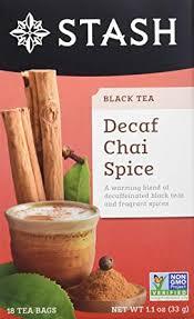 Stash <b>Tea Decaf Chai</b> Spice <b>Tea</b> Bags, 18-Count Boxes (Pack of 6 ...