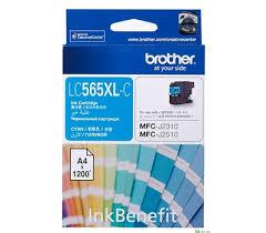 Купить Оригинальный <b>картридж Brother LC565XLC</b> (1200 стр ...