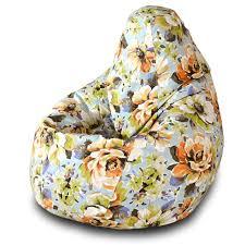 <b>Кресло</b>-<b>мешок груша Пазитифчик Марта</b> (жаккард) 130х85 см