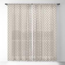 Monarch Sheer Curtains | Society6