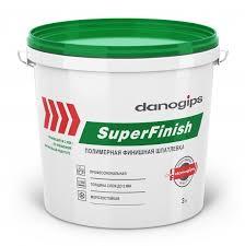 <b>DANOGIPS шпатлевка</b> гот. <b>финишная</b> SuperFinish (5кг ...