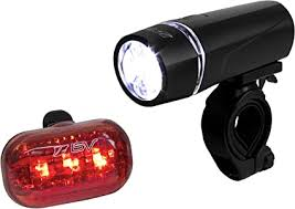 BV Bicycle Light Set Super Bright 5 LED Headlight, 3 ... - Amazon.com