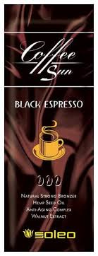 Soleo <b>Крем</b>-<b>бронзатор с проявителем загара</b> Coffe Sun BLACK ...