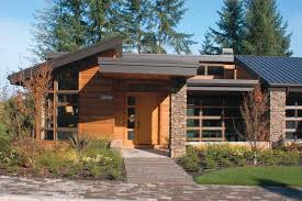 Contemporary Modern House Plans at eplans com   Modern Home    Temp