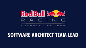 software architect team lead red bull racing formula one team