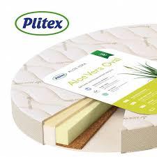 <b>Детский матрас Плитекс Aloe</b> vera Oval AB-18/4 светлый - купить ...