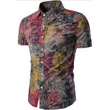 <b>Men's Shirt 2019 New</b> Men's Fashion Linen Shirt Men's Casual Slim ...