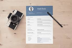 resume template designs creatives a4 size photographer psd resume template design resume template 2