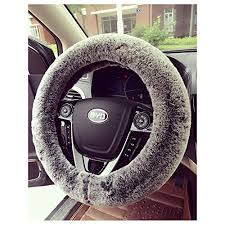 "38cm 15"" <b>Coral Fleece</b> Inner Rubber Durable Soft Warm <b>Car</b> ..."