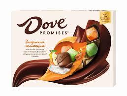 Набор <b>конфет Dove Promises</b> десертное ассорти 118г - купить с ...