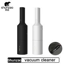 Shunzao <b>Car Vacuum Cleaner Wireless</b> Mini Portable Dust ...