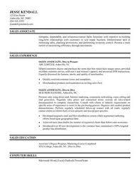 s associate resume sample   best resume galleryretail associate resume  middot   s associate resume examples