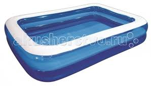 <b>Бассейн Jilong</b> Giant Rectangular <b>Pool</b> 2-ring 200х150х50 см ...