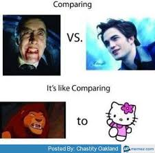 Comparing vampires | Memes.com via Relatably.com