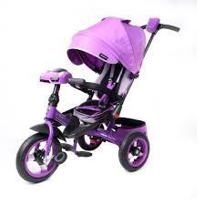 Детский <b>трехколесный велосипед Moby Kids</b> Leader 360° 12x10 ...