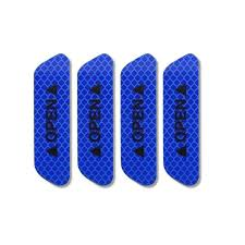 <b>4PCS</b> Red Super <b>Car</b> Door <b>Open</b> Sticker <b>Reflective</b> Tape Safety ...