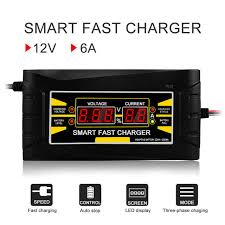 Online Shop Car Battery Charger <b>12V 6A</b> 10A Intelligent Full ...