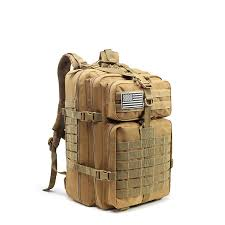 45L <b>Tactical Army Military</b> 3D Molle Assault Rucksack Backpack ...
