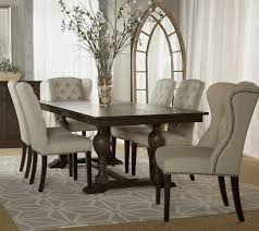 Fancy Dining Room Sets Black Fabric Dining Room Chairs At Alemce Home Interior Design