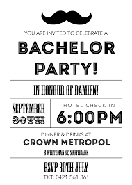 bachelor party invitations com bachelor party invitations to design your own party invitation in foxy styles 27111610