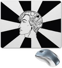 Коврик для мышки Музыка в голове #2231383 от MarinaTilia