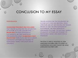 write a conclusion for an essay writing introductions and conclusions some top tips  conclusion to my essay