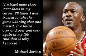 Michael Jordan Famous Failure Quotes. QuotesGram via Relatably.com