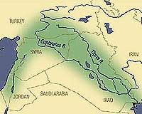 Image result for tigris and euphrates map