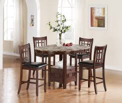 elegant square black mahogany dining table: full size of kitchen remarkable round chocolate mahogany wood bar height kitchen table gray marble
