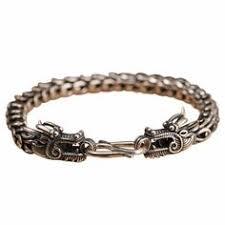 <b>Xiangyun</b> Vector <b>Solid Silver</b> Bracelet in 2019 | Bracelets | Solid ...