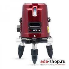 <b>Нивелир</b> лазерный <b>ADA 3D LINER</b> 2V А00131 - Лазерные ...