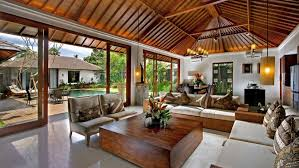 beautiful open floor simple natural tropical living room with download exposed wooden roof retractable glass wall beautiful open living room