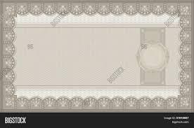 raster voucher coupon paper money blank template stock photo raster voucher coupon paper money blank template