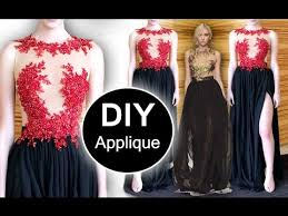 DIY: applying <b>appliques</b> (Method #1) - YouTube