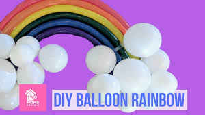 Make a <b>Balloon Rainbow</b>! DIY <b>Party</b> Decor Tutorial - YouTube