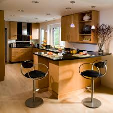Engineered Wood Flooring Kitchen Contemporary With Bar Stools Cabinets Flat