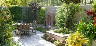 Small Picture Mediterranean Garden Design