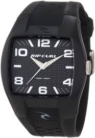 Rip Curl Men s A2410 BLK Analog Surf with <b>ABS Case</b> and Strap ...